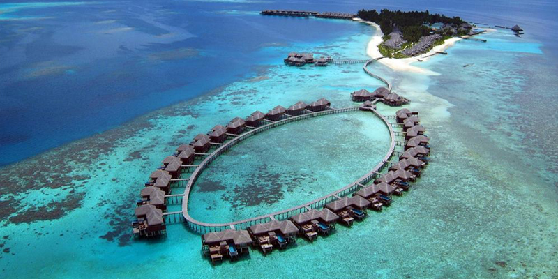 Mathew And Cara's Unforgettable Maldives Honeymoon Coco Palm Bodu Hithi Aerial View Banner