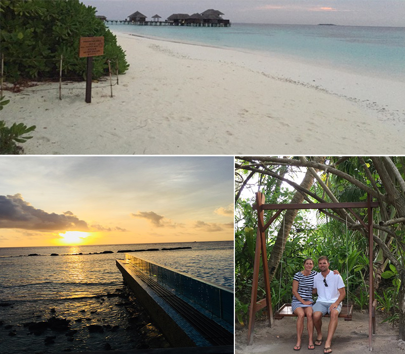 Mathew And Cara's Unforgettable Maldives Honeymoon Coco Palm Bodu Hithi Exploring Island