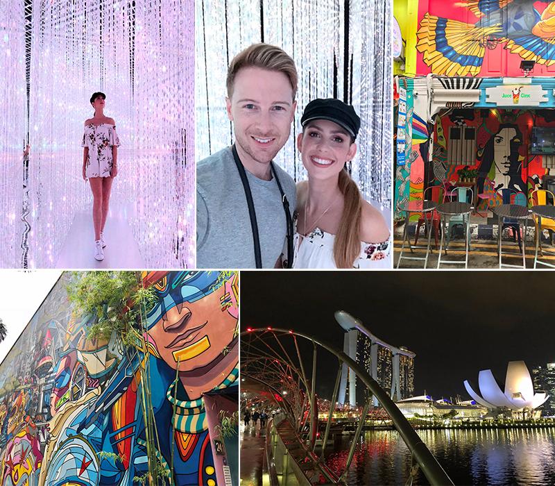 Robert And Samantha's Singapore And Maldives Blog Art Museum And Hapi Lane