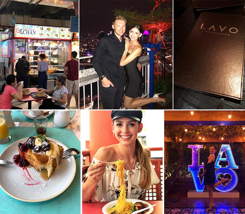Robert And Samantha's Singapore And Maldives Blog Pan Pacific And Marina Bay Sands Restaurant Food