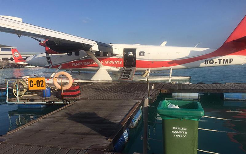 Thomas And Annmarie Vilamendhoo Island Blog Seaplane Transfer