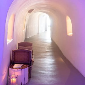 Greece Honeymoon Packages Canaves Oia Epitome Canaves Spa Entrance