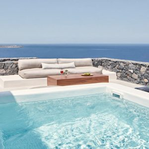 Greece Honeymoon Packages Canaves Oia Epitome Deluxe Suite With Plunge Pool
