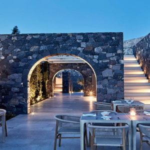 Greece Honeymoon Packages Canaves Oia Epitome Elements Restaurant2