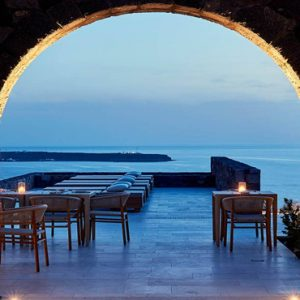 Greece Honeymoon Packages Canaves Oia Epitome Elements Restaurant3