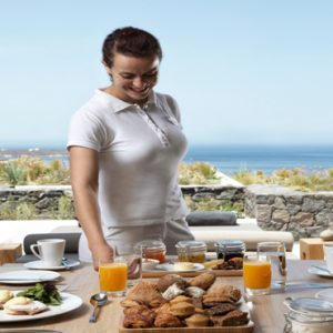 Greece Honeymoon Packages Canaves Oia Epitome In Room Dining1