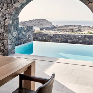 Greece Honeymoon Packages Canaves Oia Epitome One Bedroom Pool Villa3