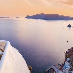 Greece Honeymoon Packages Canaves Oia Epitome Wedding Setup