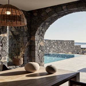 Greece Honeymoon Packages Canaves Oia Epitome Villa Pool View1