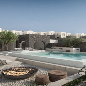 Greece Honeymoon Packages Canaves Oia Epitome Villa Pool1
