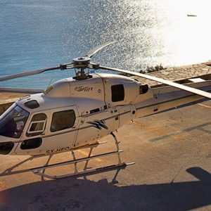 Greece Honeymoon Packages Myconian Utopia Helicopter