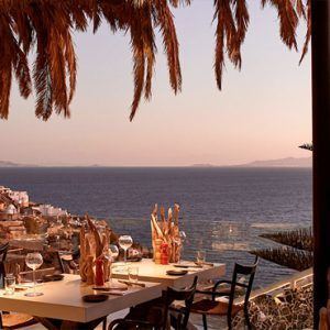Greece Honeymoon Packages Myconian Utopia The Pavilion Restaurant