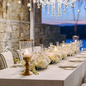 Greece Honeymoon Packages Myconian Utopia Wedding Setup