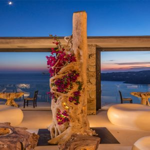 Greece Honeymoon Packages Myconian Utopia Alfresco Dining
