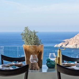 Greece Honeymoon Packages Myconian Utopia Dining With A View