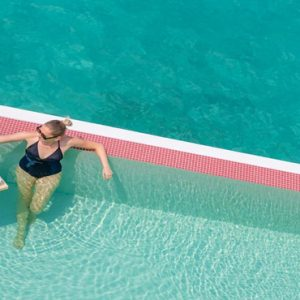 Maldives Honeymoon Packages LUX North Male Atoll Floating Breakfast In The Pool
