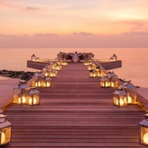 Maldives Honeymoon Packages LUX North Male Atoll Jetty