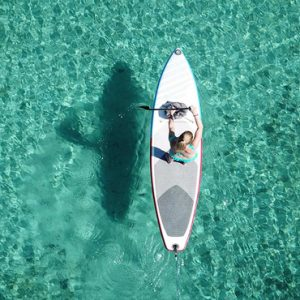 Maldives Honeymoon Packages LUX North Male Atoll Stand Up Paddle Boarding
