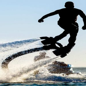 Maldives Honeymoon Packages LUX North Male Atoll Fly Boarding And Hover Boarding