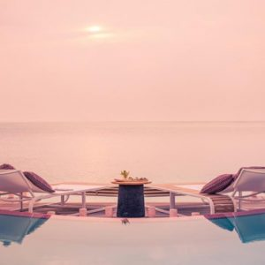 Maldives Honeymoon Packages LUX North Male Atoll Seating By The Pool