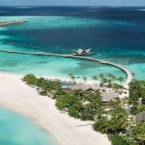 Maldives Honeymoon Package Joali Maldives Aerial View