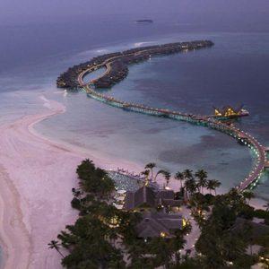 Maldives Honeymoon Package Joali Maldives Aerial View At Night