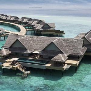 Maldives Honeymoon Package Joali Maldives Aerial View Of Water Villas