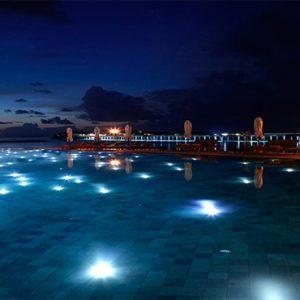 Maldives Honeymoon Package Joali Maldives Pool At Night