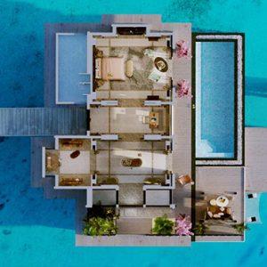 Maldives Honeymoon Package Joali Maldives Aerial View Of Water Villa