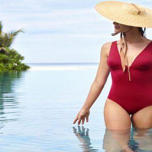 Maldives Honeymoon Package Joali Maldives Women In Pool
