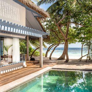 Maldives Honeymoon Packages Raffles Maldives Meradhoo Deluxe Beach Villa2