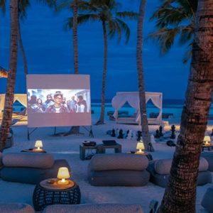 Maldives Honeymoon Packages Seaside Finolhu Maldives Cinema On Beach