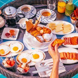 Maldives Honeymoon Packages Seaside Finolhu Maldives Floating Breakfast