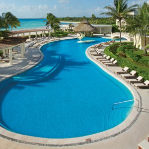 Mexico Honeymoon Packages Dreams Tulum Resort And Spa Mexico Pool 4