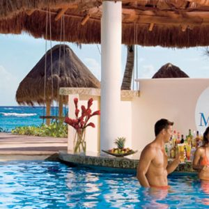 Mexico Honeymoon Packages Dreams Tulum Resort And Spa Mexico Pool Bar