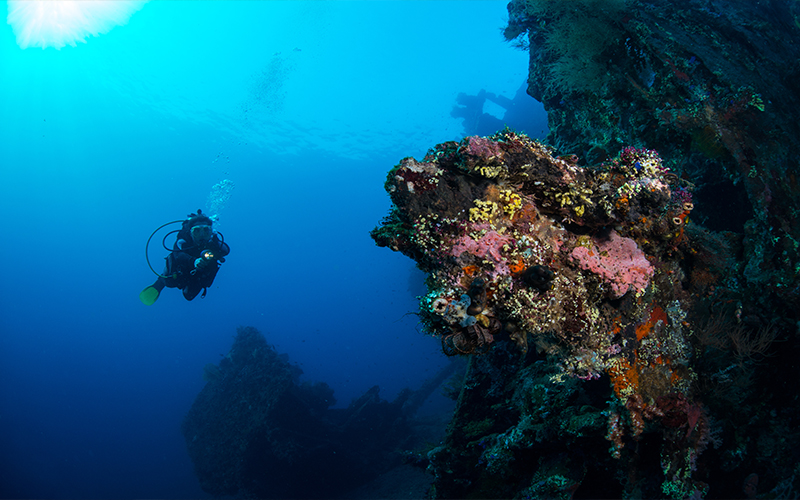 Romantic Things To In Bali Shipwreck