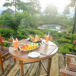 Sri Lanka Honeymoon Packages 98 Acres Resort & Spa Dining Outdoors