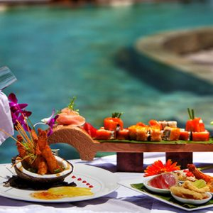 Thailand Honeymoon Package Nikki Beach Koh Samui Champagne And Bites By The Pool