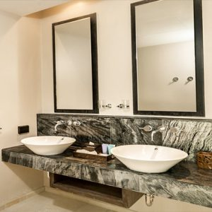 Thailand Honeymoon Package Nikki Beach Koh Samui Garden Villa Bathroom