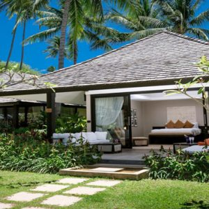 Thailand Honeymoon Package Nikki Beach Koh Samui Garden Villa Exterior