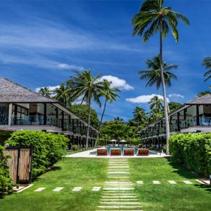 Thailand Honeymoon Package Nikki Beach Koh Samui Garden Villa Garden View