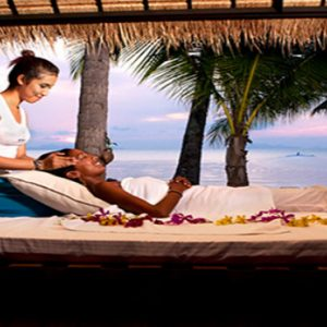 Thailand Honeymoon Package Nikki Beach Koh Samui Massage Pagoda