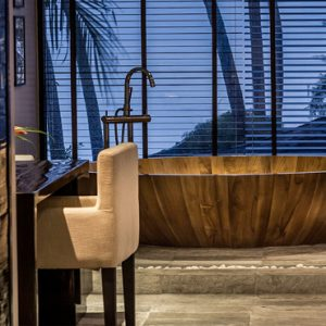 Thailand Honeymoon Package Nikki Beach Koh Samui Ocean View Penthouse Bathroom