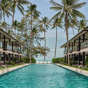 Thailand Honeymoon Package Nikki Beach Koh Samui Pool
