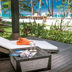 Thailand Honeymoon Package Nikki Beach Koh Samui Sea View Villa Exterior Deck