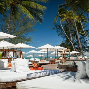 Thailand Honeymoon Package Nikki Beach Koh Samui Sun Loungers