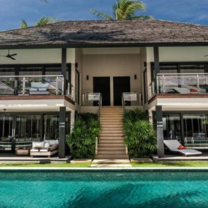 Thailand Honeymoon Package Nikki Beach Koh Samui Villa Entrance