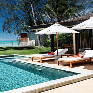Thailand Honeymoon Package Nikki Beach Koh Samui Villa Pool And View