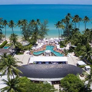 Thailand Honeymoon Package Nikki Beach Koh Samui Aerial View