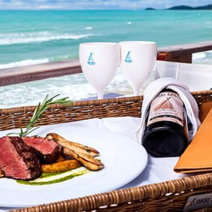 Thailand Honeymoon Package Nikki Beach Koh Samui Food By The Beach
